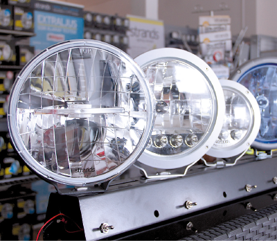 Strands Lighting Division, Available in the UK exclusively from Kuda Automotive