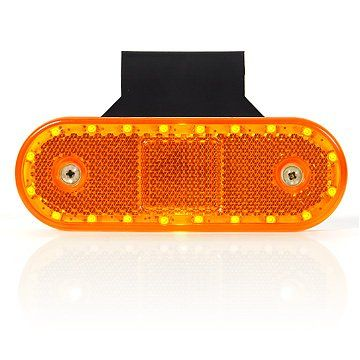 LED Sidemark 12-24V Orange