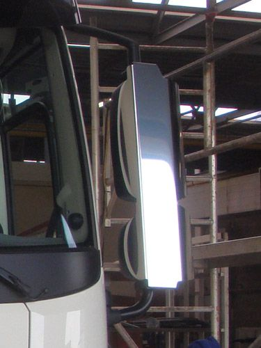 DAF XF105 Stainless Mirror Guards