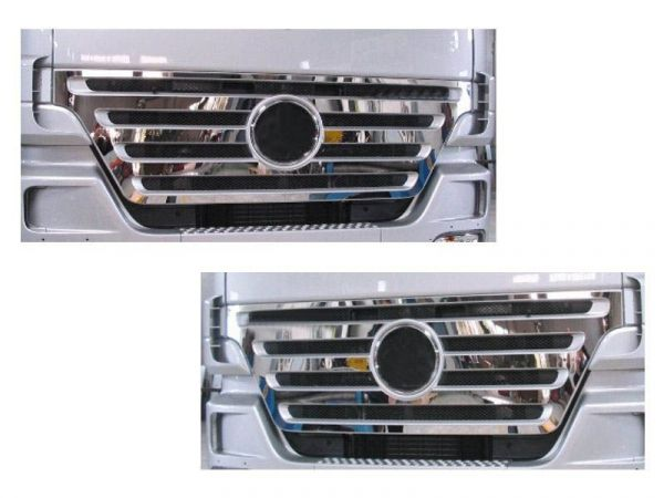 Mercedes Actros 2012 Radiator Grill Protection (Wide Bands)
