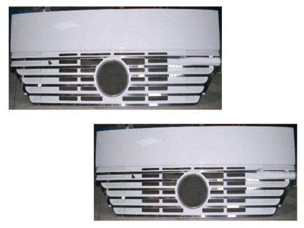 Mercedes Actros 2012 Radiator Protection (Narrow Bands)