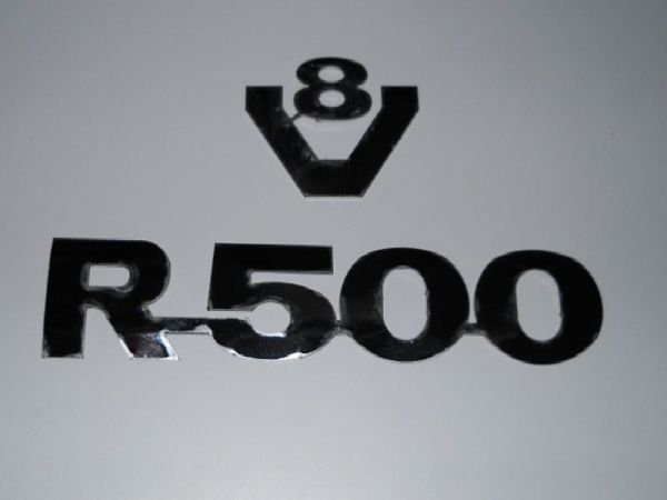 Scania R1 Series V8 R500 Sign
