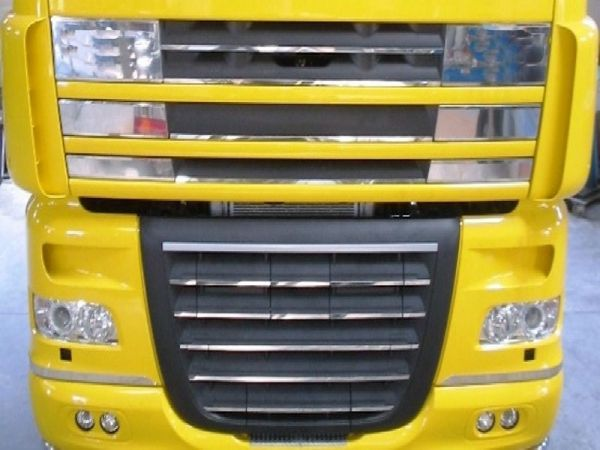 DAF XF 105 Complete Front Grill Applications