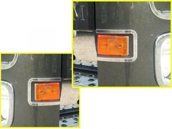 Mercedes Actros 2012 Indicator Light Frames
