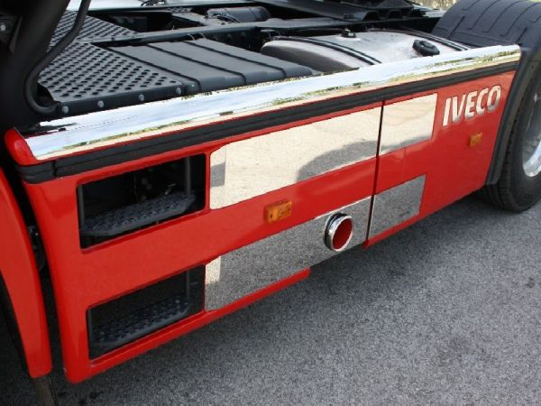 Iveco Stralis Hi-way Side Protection (With hole)