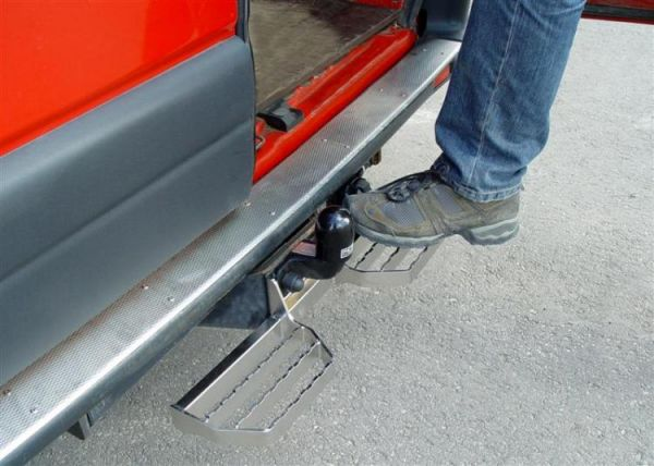 Rear Tow Bar Step Plate
