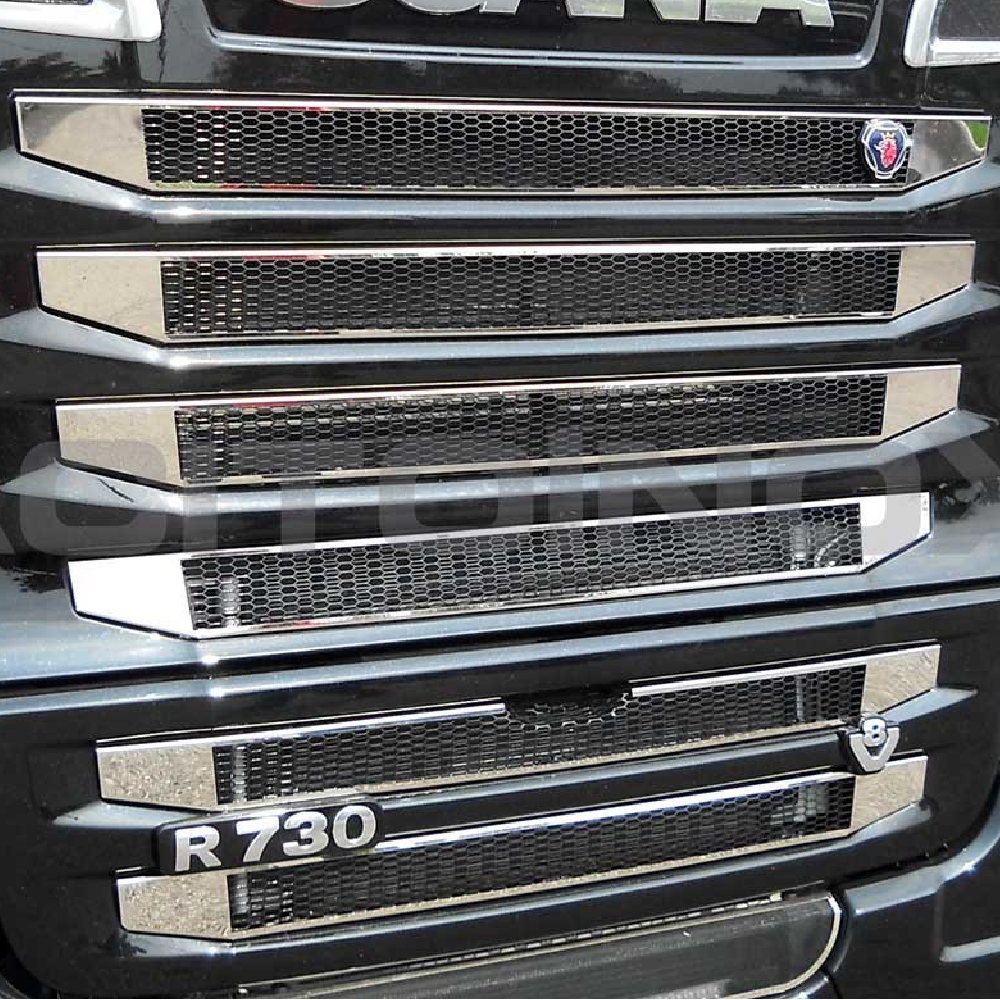 Truck Stainless Steel Trim, Stainless Styling, Headlight